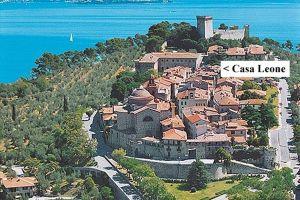 Casa Leone at the heart of Castiglione del Lago